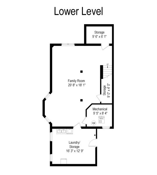 Real Estate Photography - 4900 N Glenwood Ave, Chicago, IL, 60640 - Floor Plan