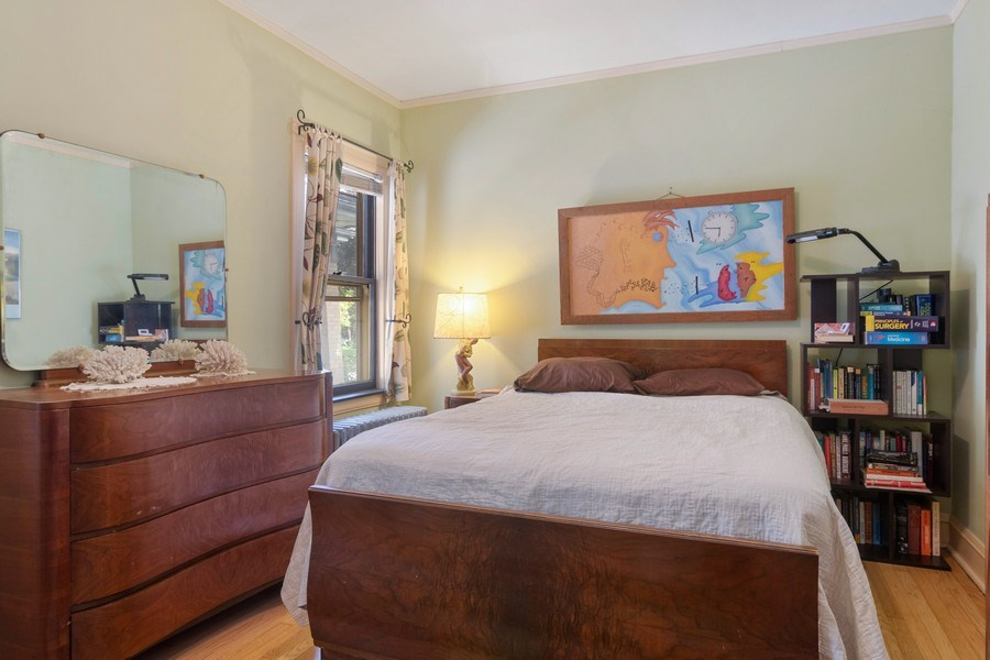 Real Estate Photography - 3032 Park Pl, Evanston, IL, 60201 - Master Bedroom