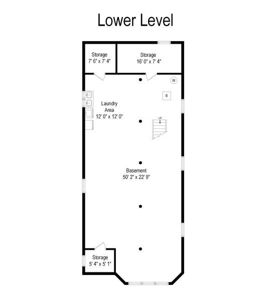 Real Estate Photography - 3032 Park Pl, Evanston, IL, 60201 - Floor Plan