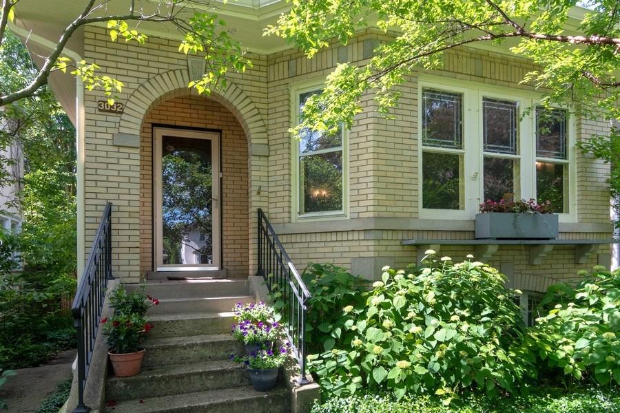 Real Estate Photography - 3032 Park Pl, Evanston, IL, 60201 - Front View