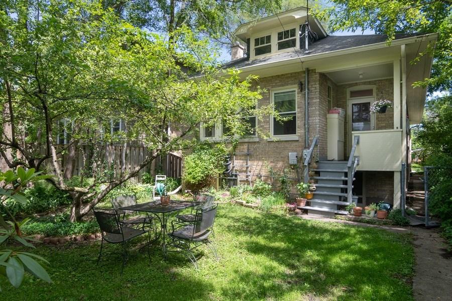 Real Estate Photography - 3032 Park Pl, Evanston, IL, 60201 - Rear View