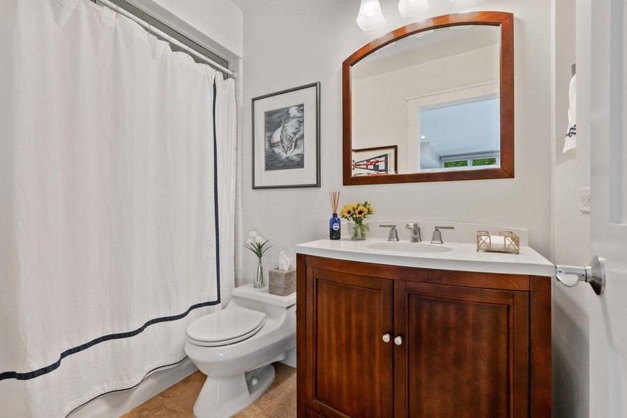 Real Estate Photography - 815 W Altgeld, Unit 2N, Chicago, IL, 60614 - Bathroom