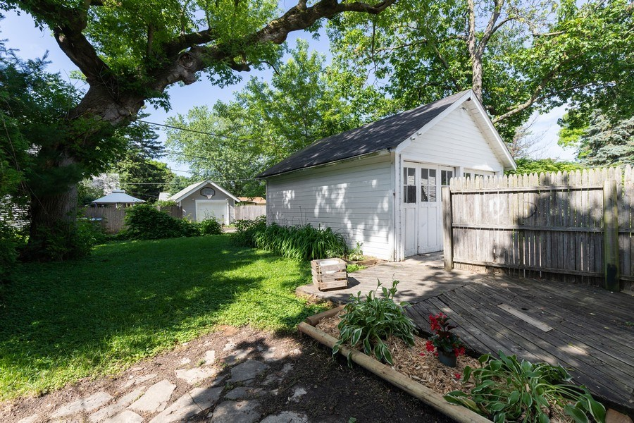 Real Estate Photography - 1624 Hyde Park Ave, Waukegan, IL, 60085 - Back Yard