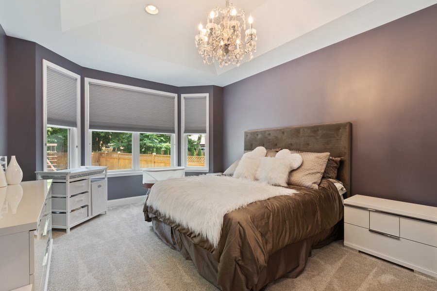 Real Estate Photography - 1375 Kensington Ct, Glenview, IL, 60025 - Master Bedroom