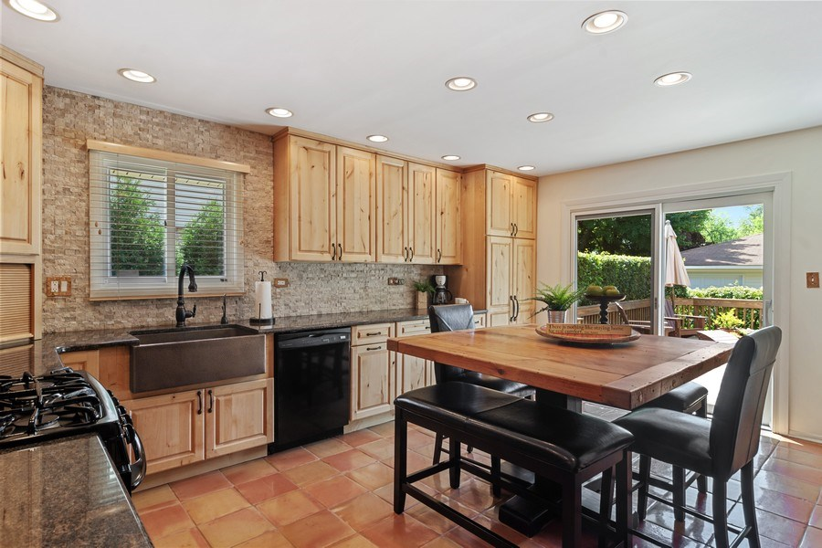 Real Estate Photography - 3623 Keenan Lane, Glenview, IL, 60025 - Kitchen / Breakfast Room