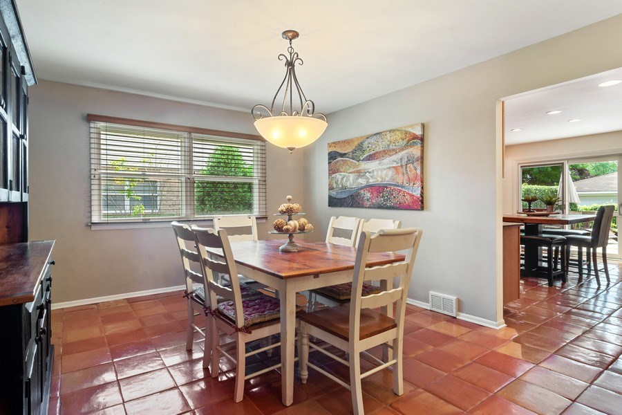 Real Estate Photography - 3623 Keenan Lane, Glenview, IL, 60025 - Dining Room