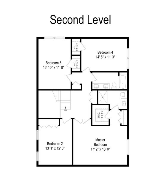 Real Estate Photography - 3623 Keenan Lane, Glenview, IL, 60025 - Floor Plan