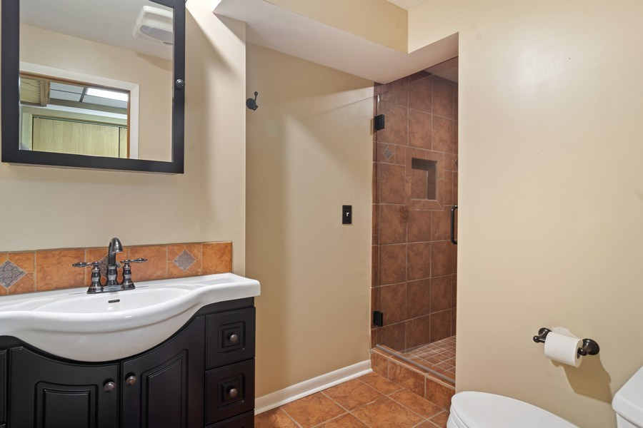 Real Estate Photography - 3623 Keenan Lane, Glenview, IL, 60025 - 2nd Bathroom