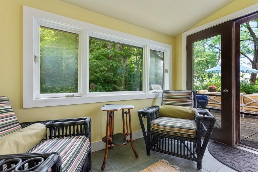 Real Estate Photography - 49019 Skyhi Road, New Buffalo, MI, 49117 - Sitting Room