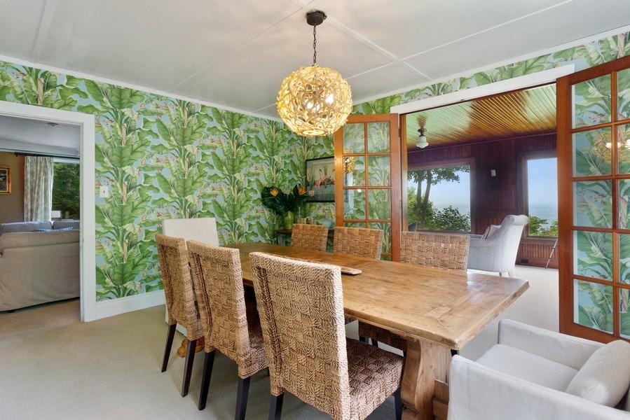Real Estate Photography - 49019 Skyhi Road, New Buffalo, MI, 49117 - Dining Room