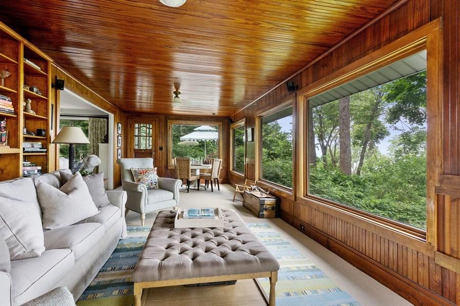 Real Estate Photography - 49019 Skyhi Road, New Buffalo, MI, 49117 - Family Room