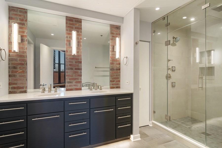 Real Estate Photography - 333 W Hubbard #510, Chicago, IL, 60654 - Master Bathroom