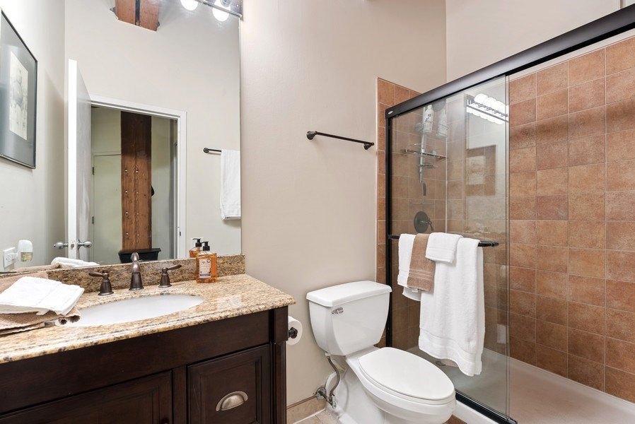 Real Estate Photography - 225 W. Huron, #318, Chicago, IL, 60654 - Bathroom