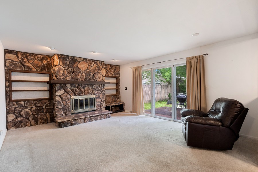Real Estate Photography - 103 Wildwood Rd, Elk Grove Village, IL, 60007 - Living Room