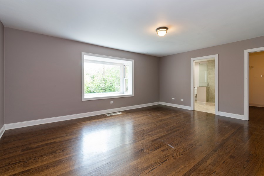Real Estate Photography - 2150 New Willow Road, Northfield, IL, 60093 - 3rd Bedroom