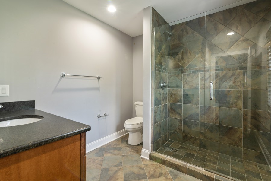 Real Estate Photography - 2150 New Willow Road, Northfield, IL, 60093 - 2nd Bathroom