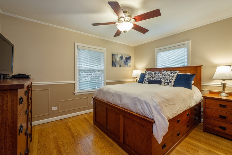 Real Estate Photography - 605 S Mitchell Ave, Arlington Heights, IL, 60005 - Master Bedroom