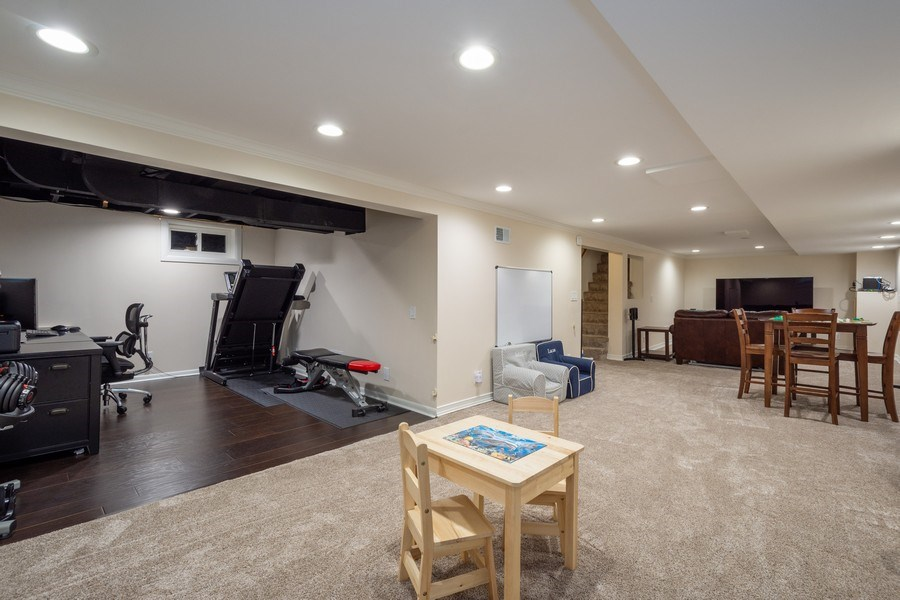 Real Estate Photography - 605 S Mitchell Ave, Arlington Heights, IL, 60005 - Basement