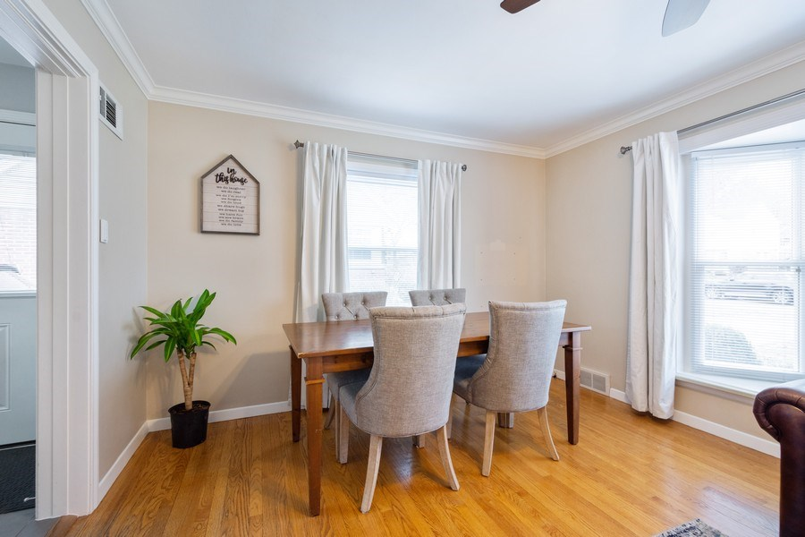 Real Estate Photography - 605 S Mitchell Ave, Arlington Heights, IL, 60005 - Dining area