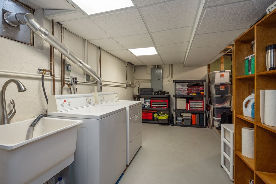 Real Estate Photography - 605 S Mitchell Ave, Arlington Heights, IL, 60005 - Laundry Room