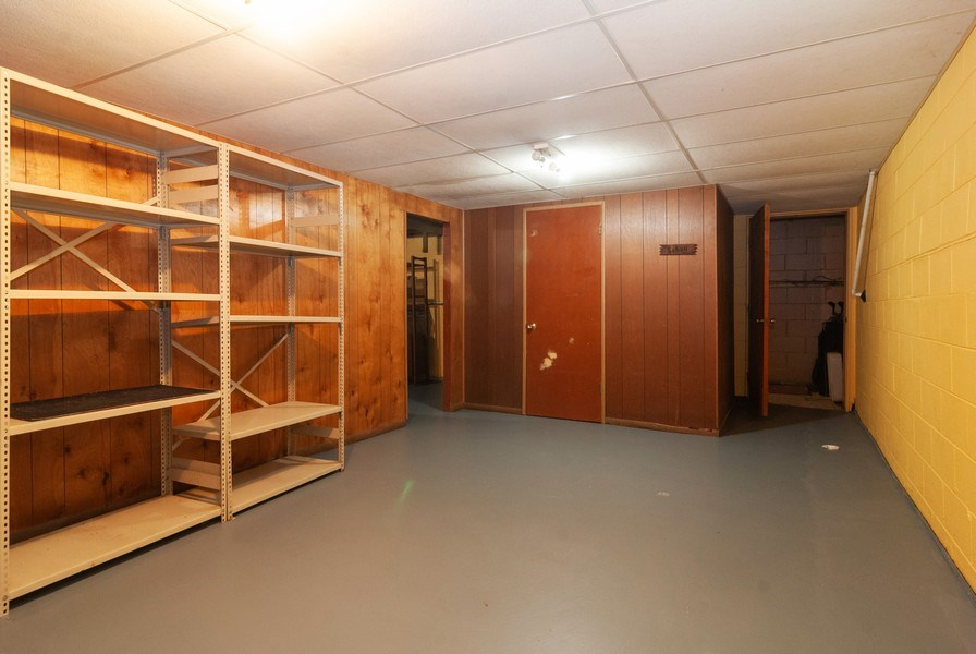 Real Estate Photography - 801 Whitlock, Aurora, IL, 60506 - Basement