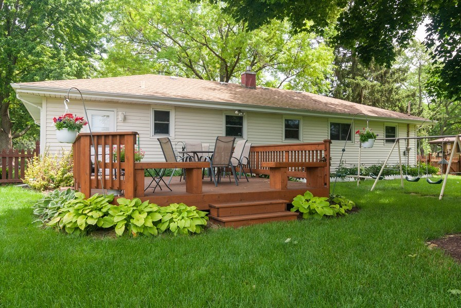 Real Estate Photography - 801 Whitlock, Aurora, IL, 60506 - Rear View
