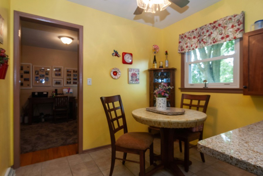 Real Estate Photography - 801 Whitlock, Aurora, IL, 60506 - Breakfast Nook