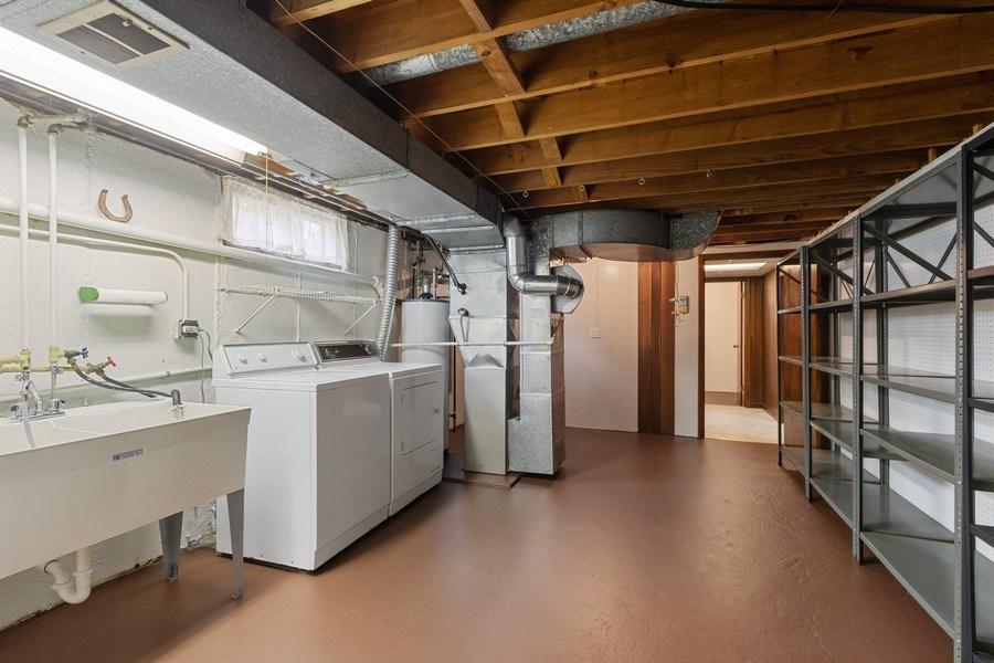 Real Estate Photography - 530 Cambridge Rd, Des Plaines, IL, 60016 - Laundry Room