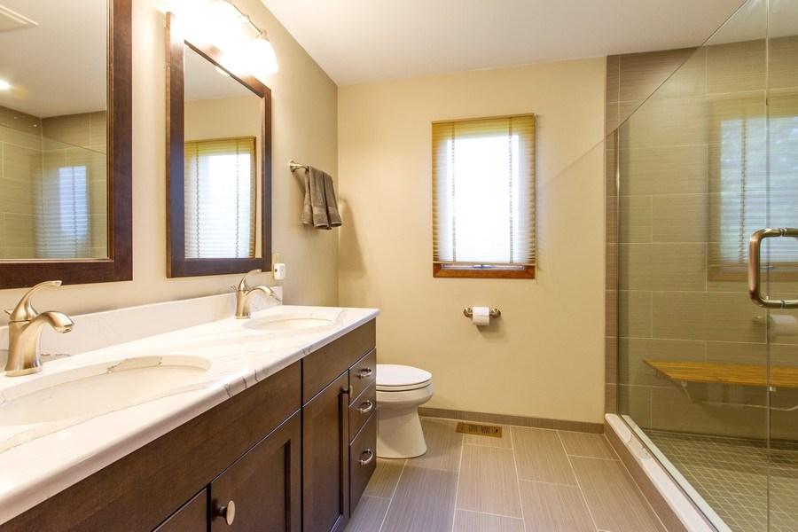 Real Estate Photography - N1790 Wildwood Dr, Lake Geneva, WI, 53147 - Master Bathroom