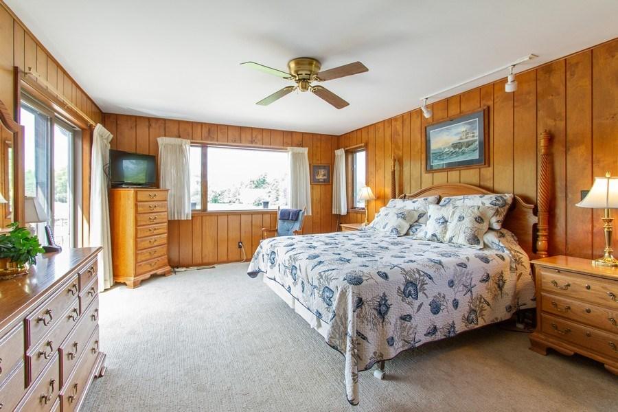 Real Estate Photography - N1790 Wildwood Dr, Lake Geneva, WI, 53147 - Master Bedroom