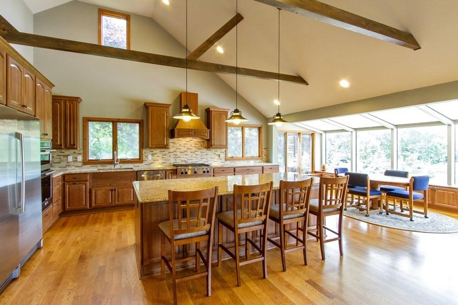 Real Estate Photography - N1790 Wildwood Dr, Lake Geneva, WI, 53147 - Kitchen / Breakfast Room