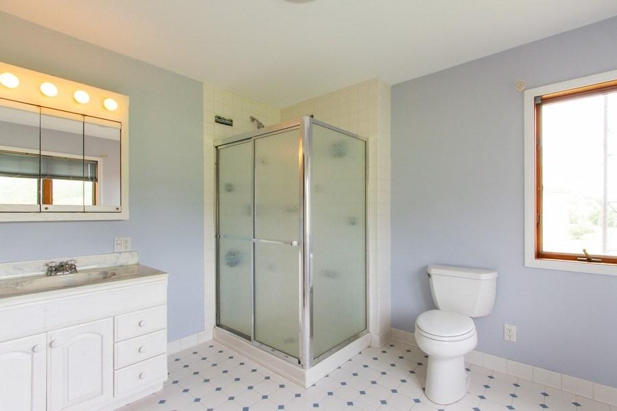 Real Estate Photography - N1790 Wildwood Dr, Lake Geneva, WI, 53147 - 2nd Bathroom