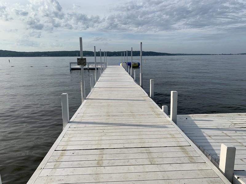 Real Estate Photography - N1790 Wildwood Dr, Lake Geneva, WI, 53147 - Association Pier