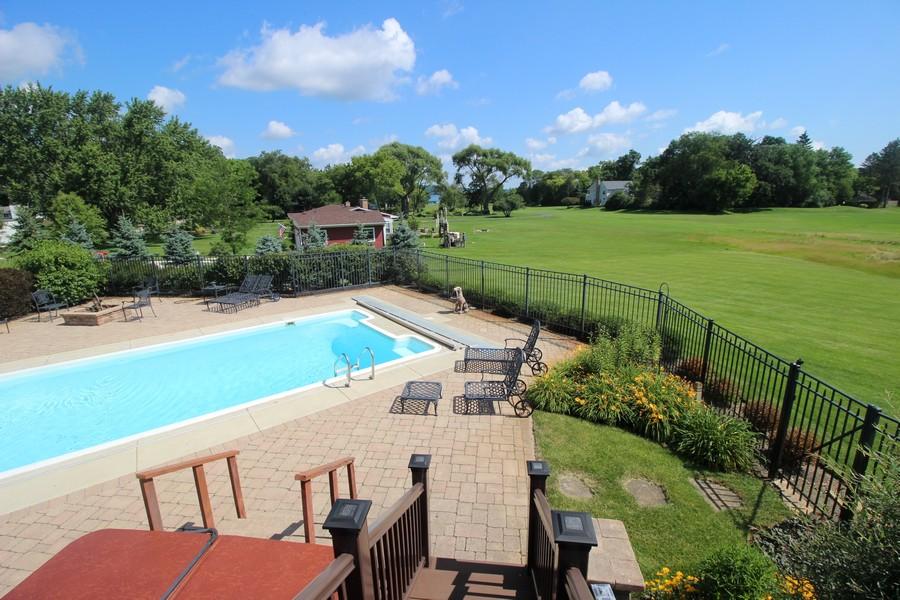 Real Estate Photography - N1790 Wildwood Dr, Lake Geneva, WI, 53147 - Pool View