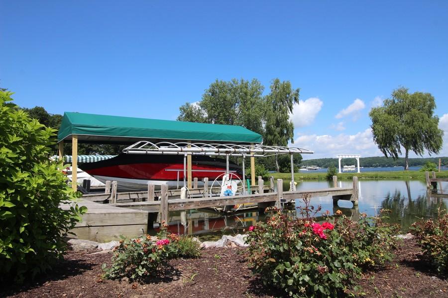Real Estate Photography - N1790 Wildwood Dr, Lake Geneva, WI, 53147 - Private Boat Slip
