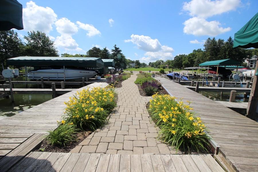 Real Estate Photography - N1790 Wildwood Dr, Lake Geneva, WI, 53147 - Private Boat Slips