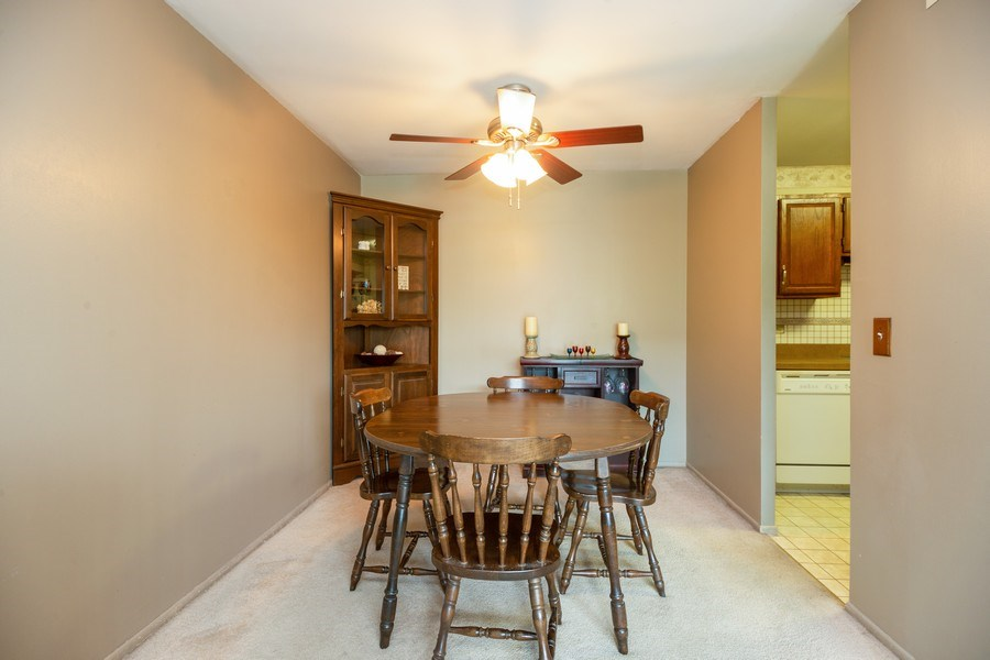 Real Estate Photography - 898 Wellington Ave, #209, Elk Grove Village, IL, 60007 - Dining Room