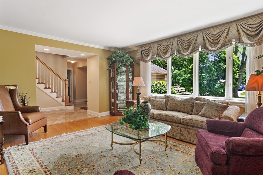 Real Estate Photography - 730 E Hawthorne, Arlington Heights, IL, 60004 - Living Room