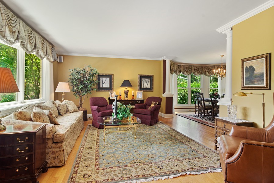 Real Estate Photography - 730 E Hawthorne, Arlington Heights, IL, 60004 - Living Room / Dining Room