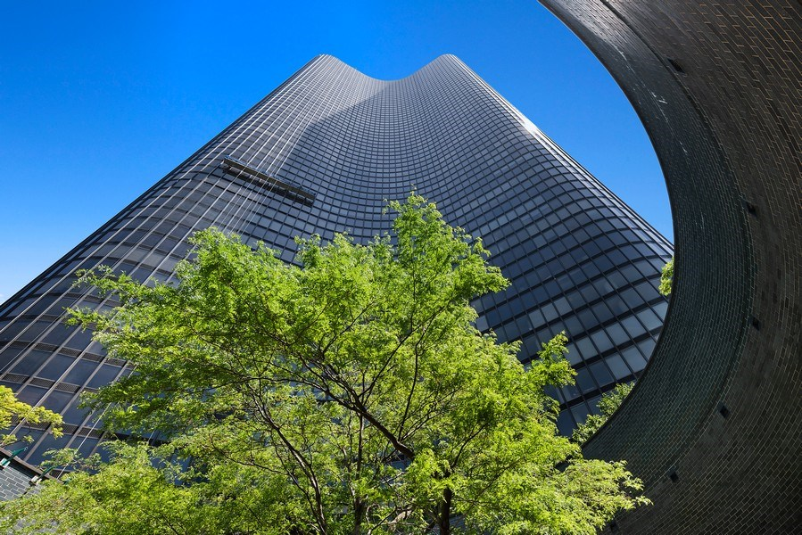 Real Estate Photography - 505 N. Lake Shore Drive, Unit 4802, Chicago, IL, 60611 - Front View