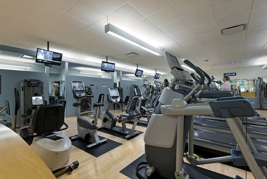 Real Estate Photography - 505 N. Lake Shore Drive, Unit 4802, Chicago, IL, 60611 - Gym