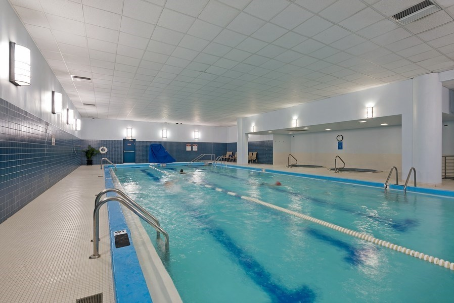 Real Estate Photography - 505 N. Lake Shore Drive, Unit 4802, Chicago, IL, 60611 - Indoor Pool