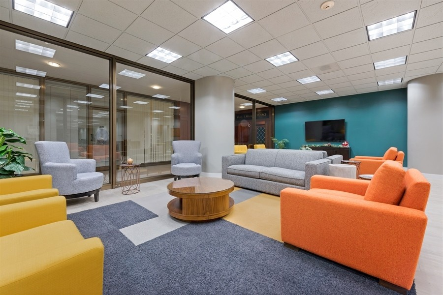 Real Estate Photography - 505 N. Lake Shore Drive, Unit 4802, Chicago, IL, 60611 - Community Room