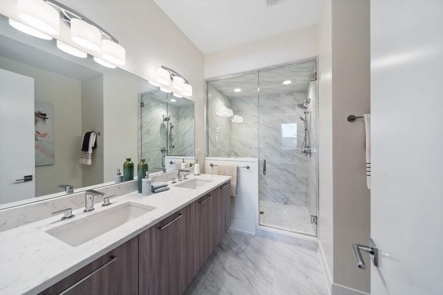 Real Estate Photography - 1220 W. Ohio #2, chicago, IL, 60642 - Master Bathroom