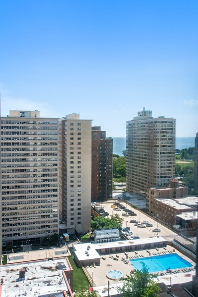 Real Estate Photography - 3930 N. Pine Grove, 2213, Chicago, IL, 60614 - View