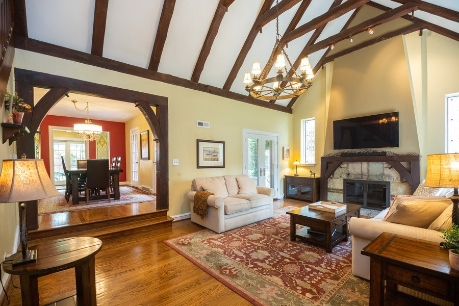 Real Estate Photography - 617 S Belmont Ave, Arlington Heights, IL, 60005 - Living Room