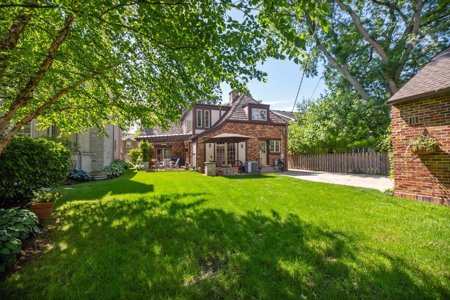 Real Estate Photography - 617 S Belmont Ave, Arlington Heights, IL, 60005 - Back Yard