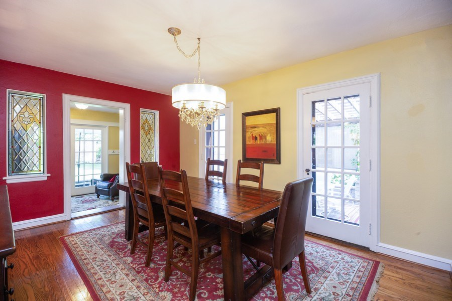 Real Estate Photography - 617 S Belmont Ave, Arlington Heights, IL, 60005 - Dining Room