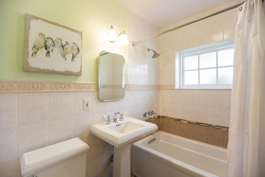 Real Estate Photography - 617 S Belmont Ave, Arlington Heights, IL, 60005 - Bathroom