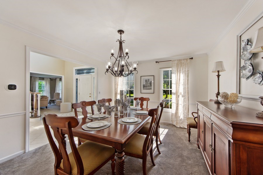 Real Estate Photography - 2162 N Charter Point, Arlington Heights, IL, 60004 - Dining Room